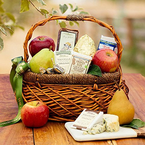 Artisan Fruit and Cheese Basket - The Fruit Company by The Fruit Company