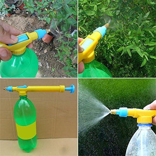 quanjucheer Mini Flaschen Trolley Gun Schnittstelle Sprühköpfe Wasser Sport Garten Blumen Bewässern