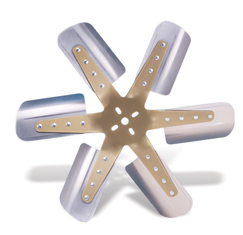 "Flex-a-lite 1518 Gold Star Stainless Steel 18 1/4"" Flex Fan"