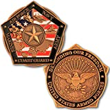 Armed Forces Honor Troops Challenge Coin, Military Support Coin. Die Struck Brass Challenge Coin Designed by Military Veterans! Marines Corps, Navy, Army, Air Force, Coast Guard Challenge Coin!