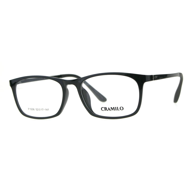Optical Quality TR90 Rectangular Narrow Thin Plastic Mens Eyeglasses Frame