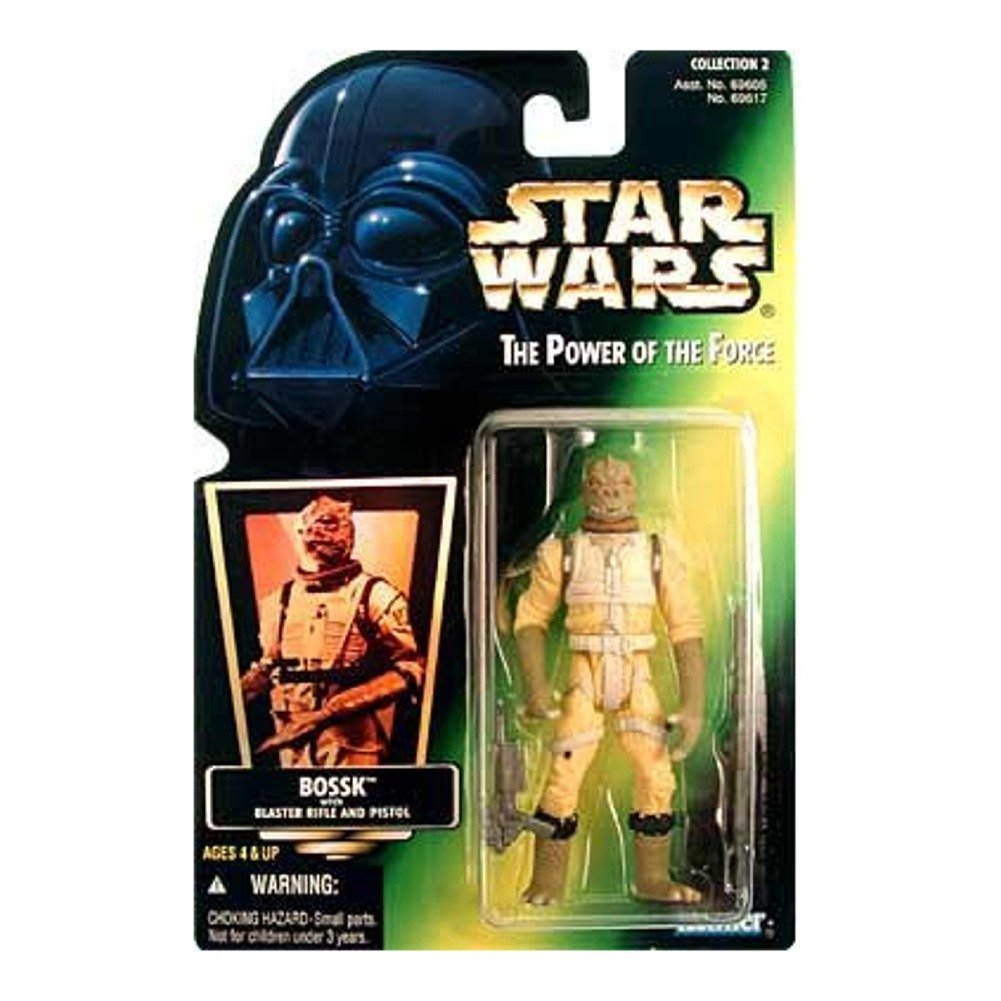 Amazoncom Star Wars Power Of The Force Green Card Bossk Action