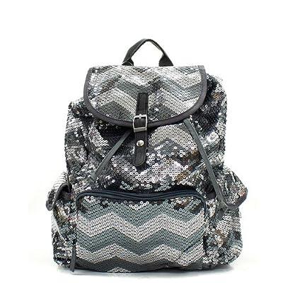 866eac5ef3 Chevron Sequin Backpack  5ZYga0406668  -  26.99