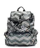 Cheap Chevron Sequin Backpack