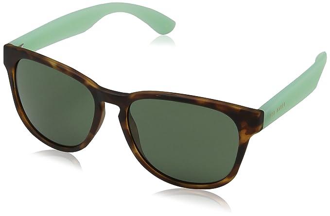 a4a40c09aa Ted Baker Ripley Gafas de Sol, Braun-Brown (Tort/Mint Green), Talla única  para Hombre: Amazon.es: Ropa y accesorios