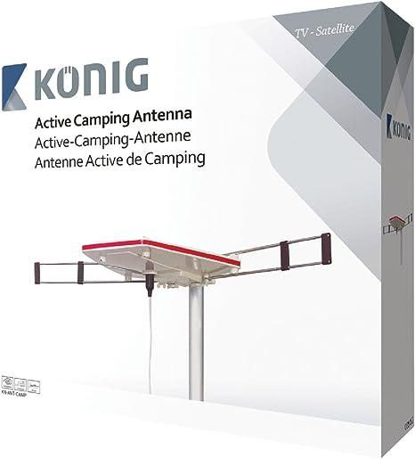 König KN-ANT-CAMP amplificador señal de TV - Amplificador de señal de TV