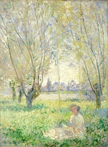 Easy Art Prints s 'Woman Seated Under The Willow'