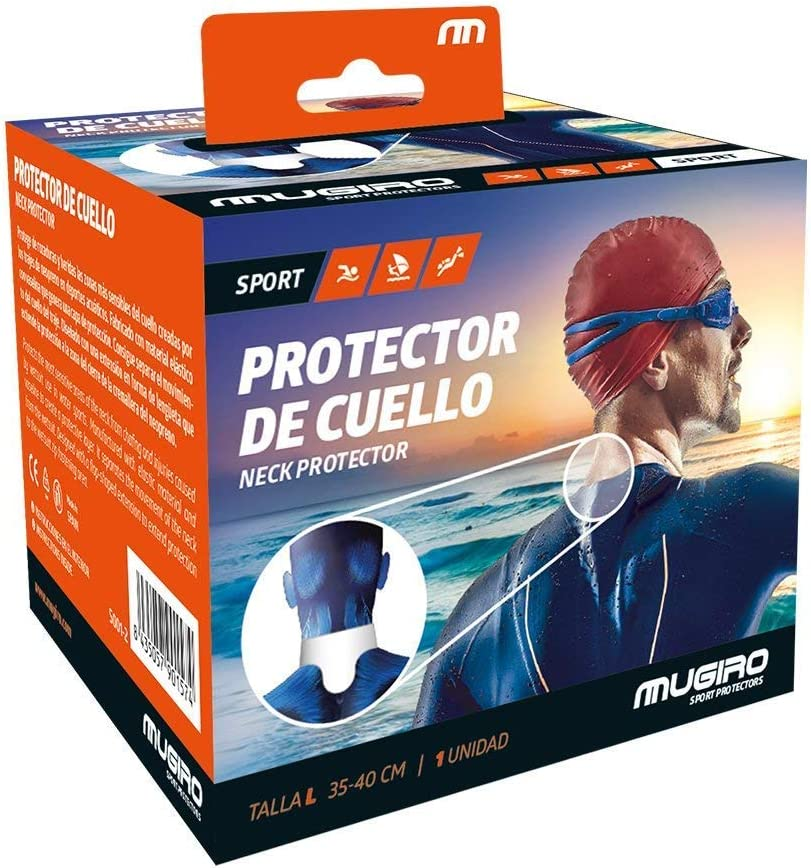 Mugiro Neck Protector Orange Wetsuits