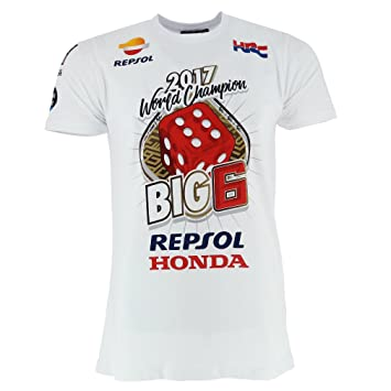 Marc Marquez 93 Moto GP 2017 Campeón Mundial Ganadores Camiseta Oficial PRE-Order