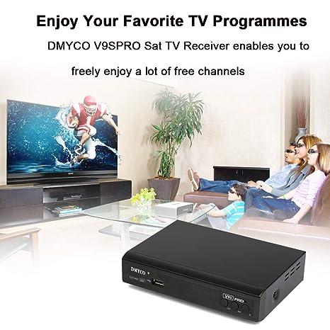 Amazon com: Satellite Receiver FTA Signal Meter TV Tuner Sat