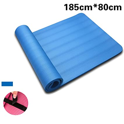 Amazon.com : Yoga mat, 185cmX80cm Lengthening Fitness mat ...