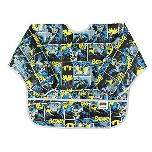 Bumkins DC Comics Waterproof Sleeved Bib, Batman Comic (6-24 (This Is Halloween Amv)