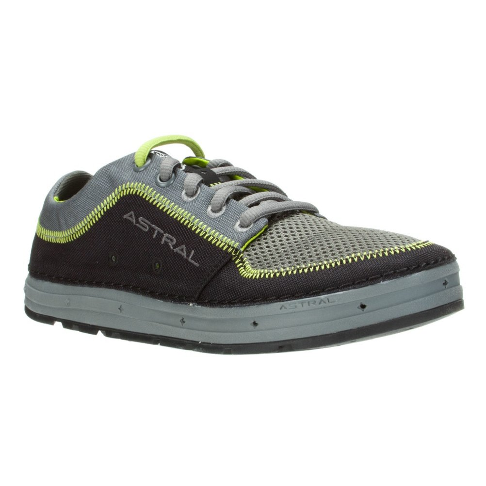 Astral Brewer Water Shoe - Men's B009FB93JY 13|Black/Lime