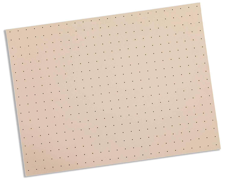 Rolyan Splinting Material Sheet, Tailor Splint, Beige, 1/16'' x 12'' x 18'', 1% Perforated, Single Sheet