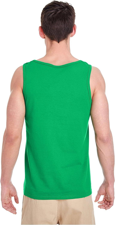 Gildan Heavy Cotton Tank Top 5200 Neon Green