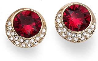 Oliver Weber Orecchino Very Gold Siam Crystals From Swarovski