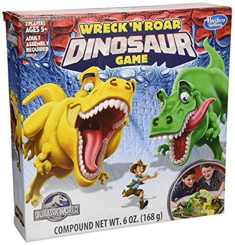 Jurassic World Wreck N Roar Dinosaur Game (World Best Fighting Games)
