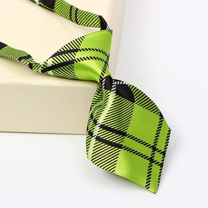 Luygiurp Corbatas De Hombrecorbata Pequeña Corbata Para Mascotas ...