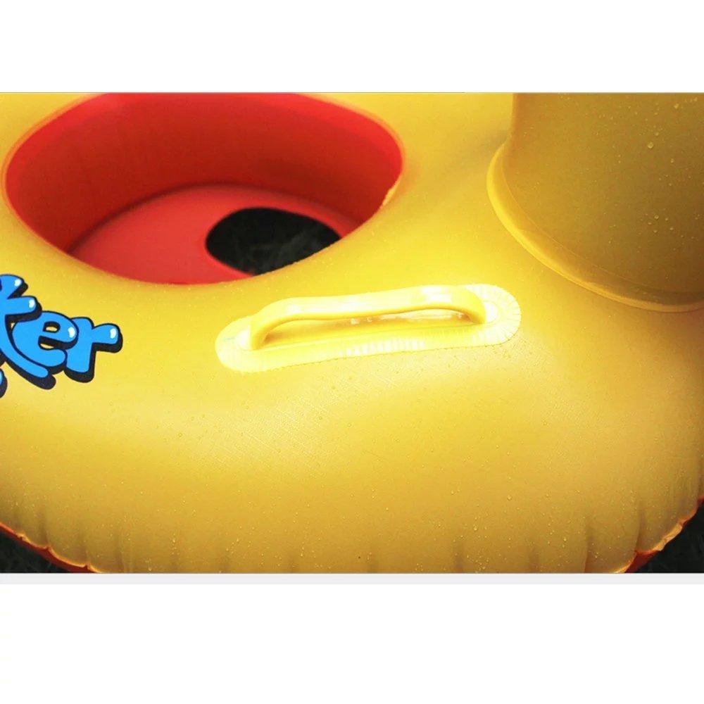 amazon com sealive yellow duck summer swimming inflatable pool
