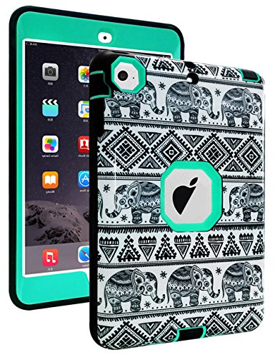 TOPSKY iPad Mini Case,Thailand Elephant Tribe Pattern Shock-