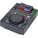 "Gemini Sound MDJ-500 Professional Audio DJ Media Player with 4.3"" Inch Full Color Display Screen, 5"" Jog Wheel and Programmab"