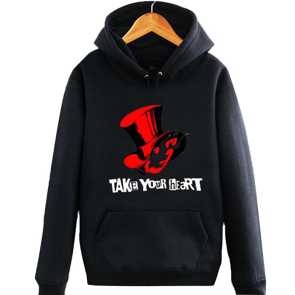 Poetic Walk Persona 5 Cosplay Costume Fans Hoodie Coat (Medium, Version01)