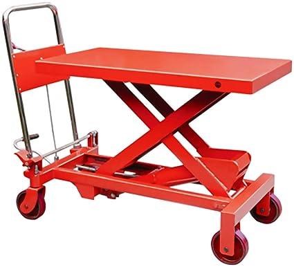 300kg Mobile Scissor Lift Hydraulic Lifting Platform Table