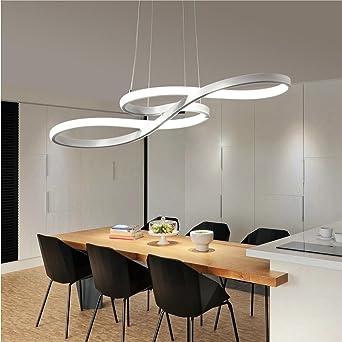 Dimmbare Fernbedienung Pendelleuchte Modern LED Hängeleuchte ...