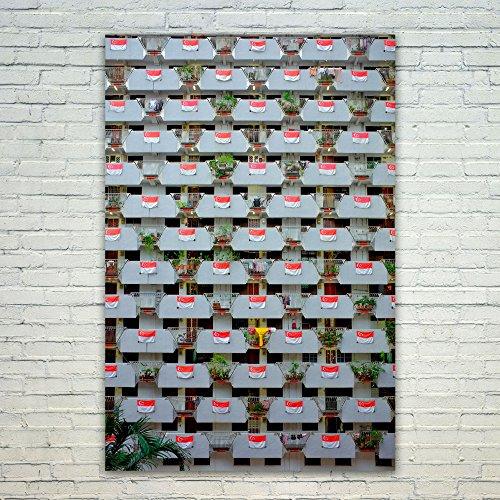 Westlake Art Poster Print Wall Art - Singapore Material - Mo