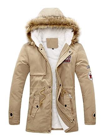 Manteau femme parka fille fourrure avec capuche