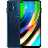 """Moto G9+ Plus (128GB, 4GB) 6.84"""" FHD+, 5000mAh Battery, Snapdragon 730, 4G LTE GSM Factory Unlocked (AT&T, T-Mobile, Metro, S"""