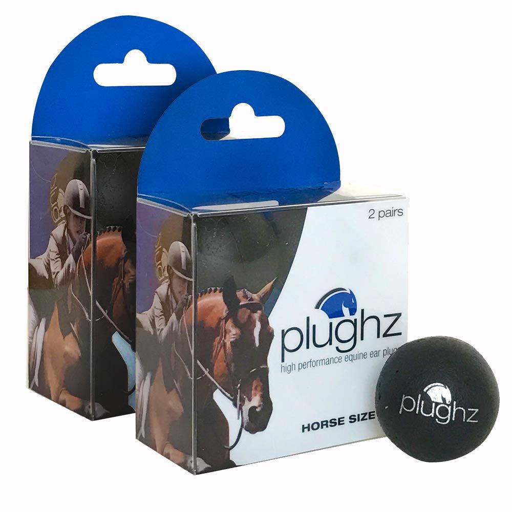 Plughz Equine Ear Plug, Horse Size