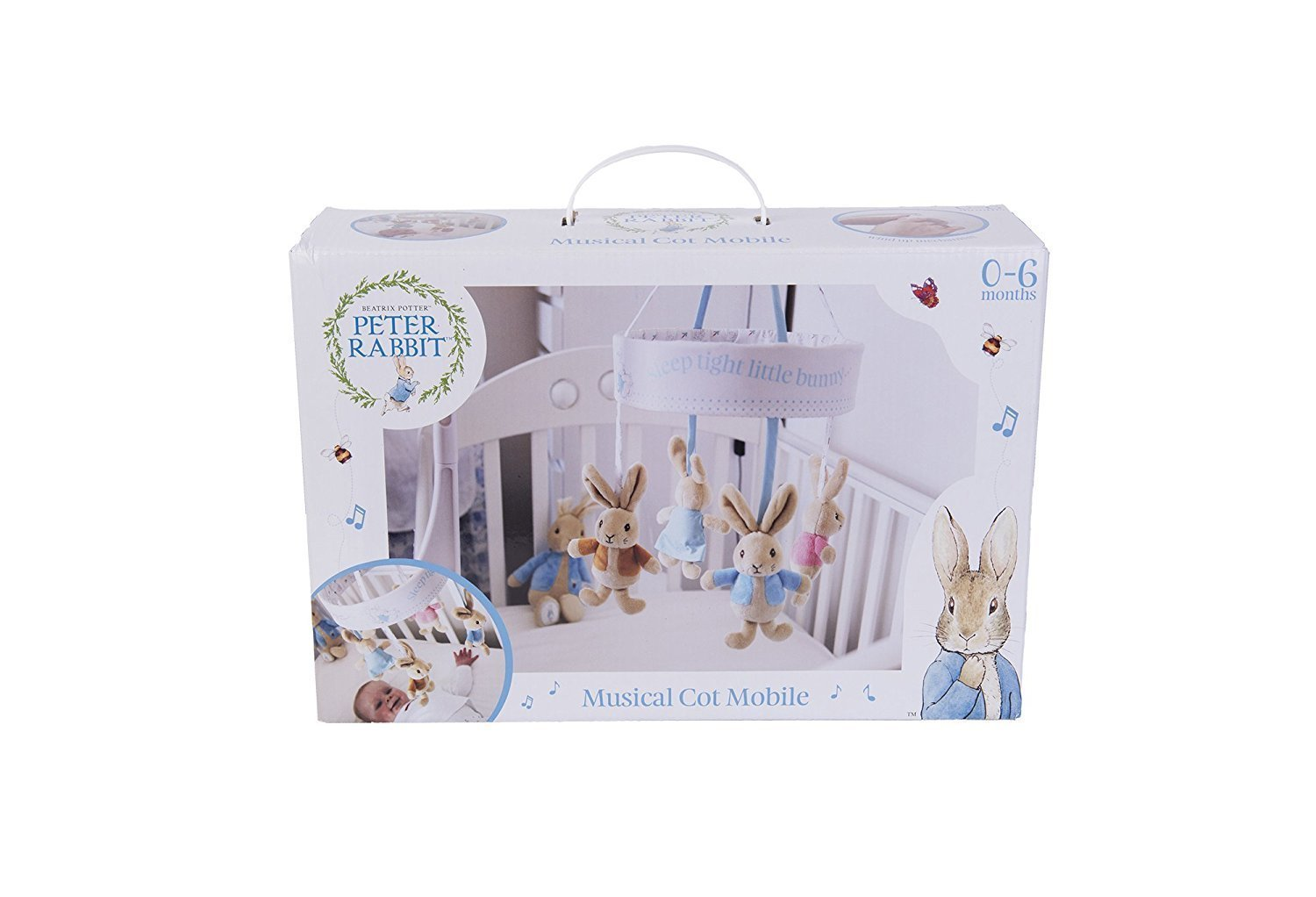 Peter Rabbit Musical Cot Mobile by Beatrix Potter