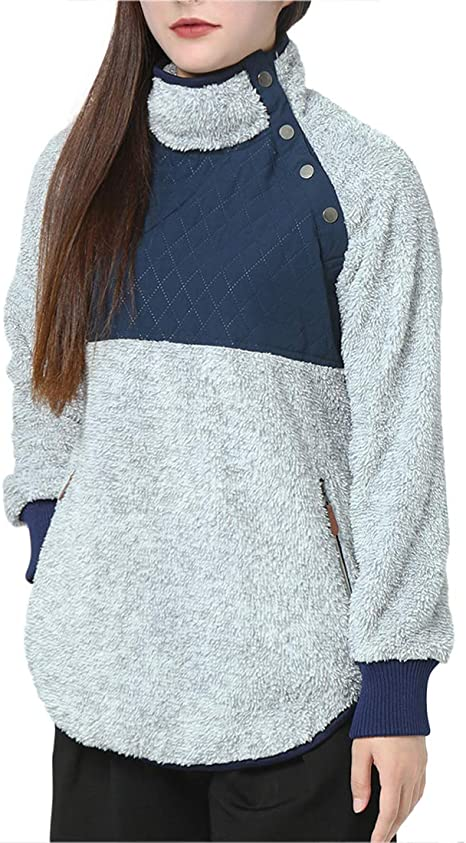 Generic Mens Long Sleeve Fashion Stand Collar Zip Up Oversized Sweatshirts Coat