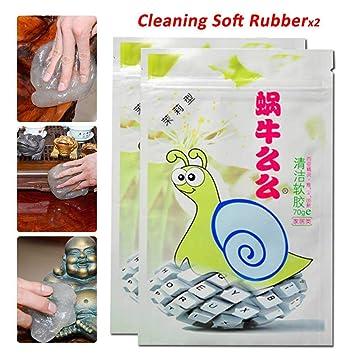 70g Magic Sticky Clean Glue Gum Gel Cleaning Car Interior Keyboard Dust Cleaner