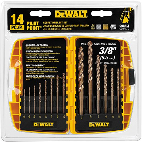 13-Piece Cobalt Drill Bit Set