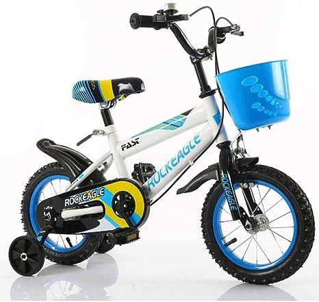 MYMGG Bicicleta Infantil para Niños Y Niñas A Partir De 4 Años ...