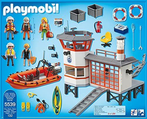 Playmobil 5539 Surfboard Green with Blue