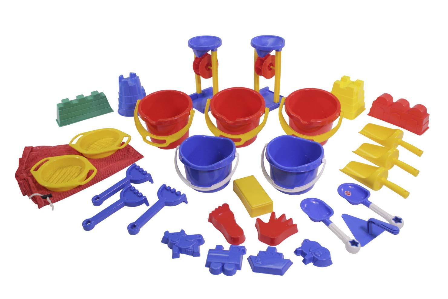 Childcraft Sand Activity Set, 28 Pieces