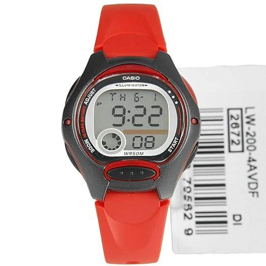 Casio Collection Reloj digital para niños Duración de la pila de 10 años