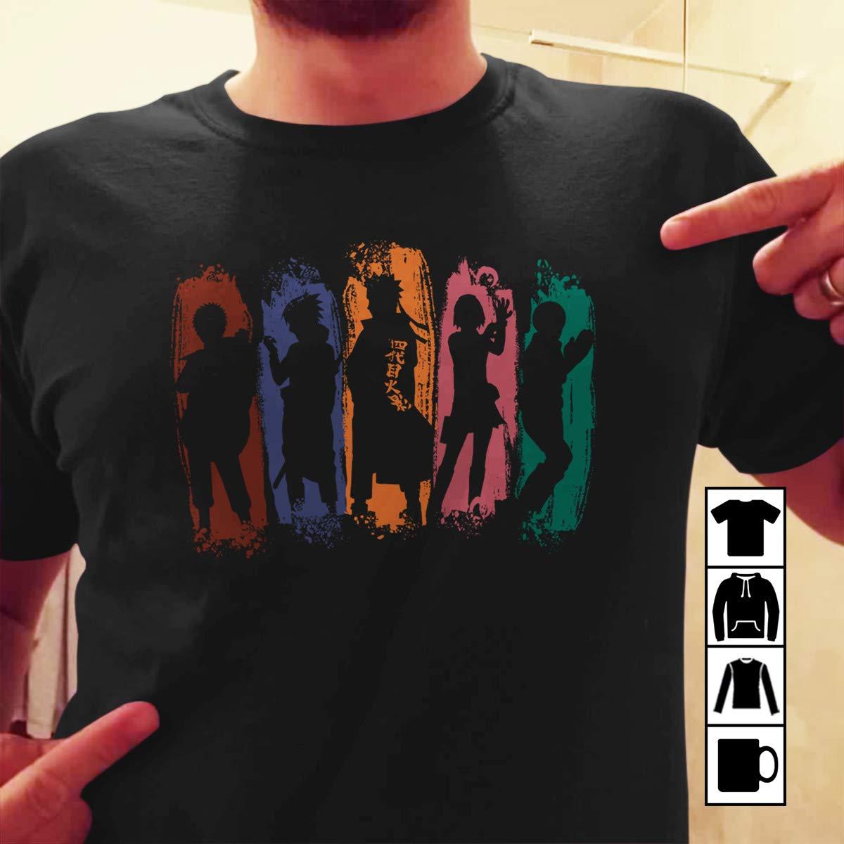 Amazon.com: Shadow of ninja t-shirt Naruto akatsuki gaara ...