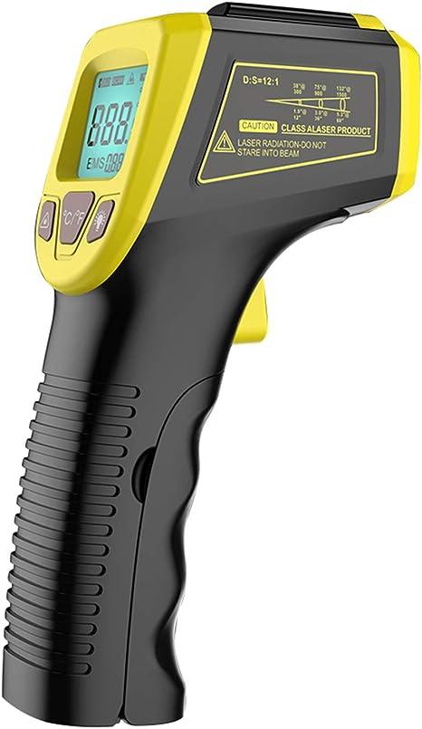 R Weichong Infrarot Thermometer Gm320s Lcd Ir Industrielle Hochtemperaturpistole 600 1112 Küche Haushalt