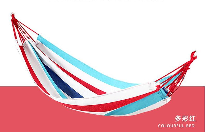DCHUANG Outdoor Hängematte,Hängematten, ultraleichte Canvas Hängematte, Schaukel, Hängematte im Freien,80  190 CM