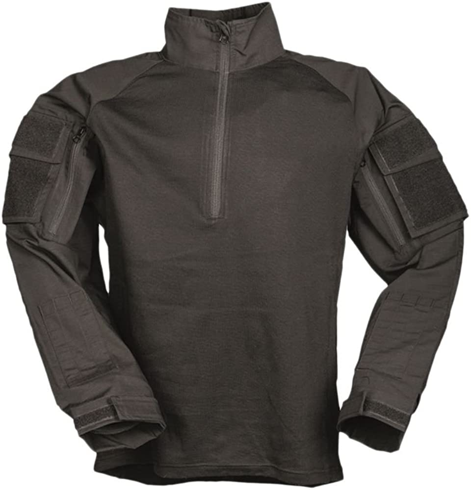 Combat-camiseta ignífuga colour negro, color Negro - negro ...