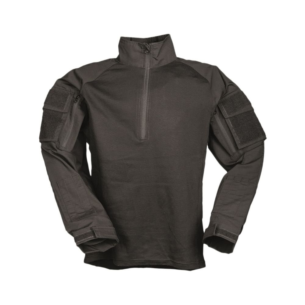 Mil-Tec Combat Shirt Flammh.ISO11612 schwarz