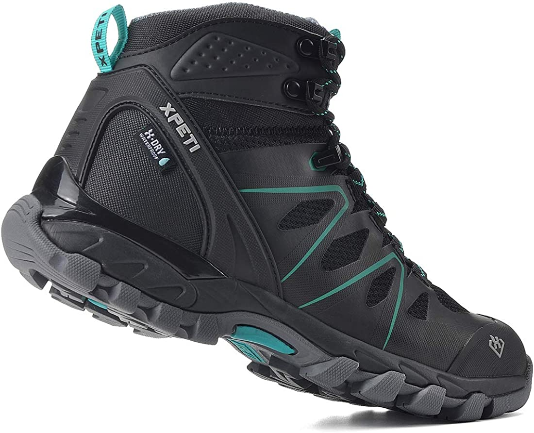 XPETI Womens Wildfire Mid Waterproof Hiking Boot
