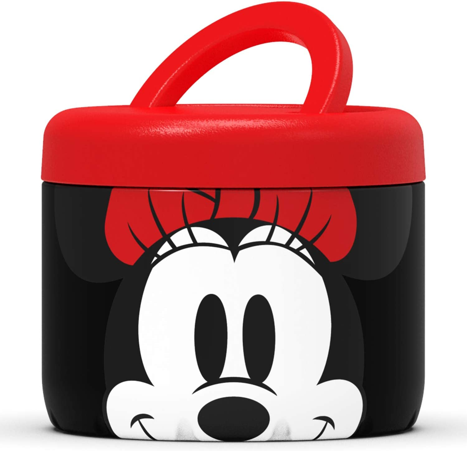 S'nack by S'well Stainless Steel Food Container - 24 Fl Oz - Disney Hello Minnie Mouse - Double-Layered Insulated Bowls Keep Food and Drinks Food and Drinks Cold for 12 Hours and Hot for 7 Hours