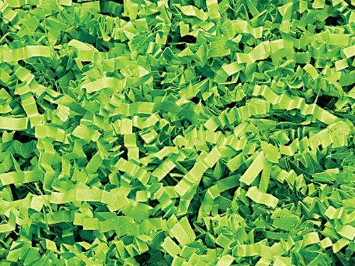 1/2 LB Crinkle Cut Paper Shred – Lime Green