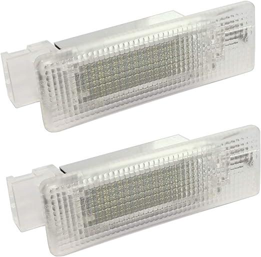 AERZETIX Par de lamparas LED para iluminacion de maletero C40892