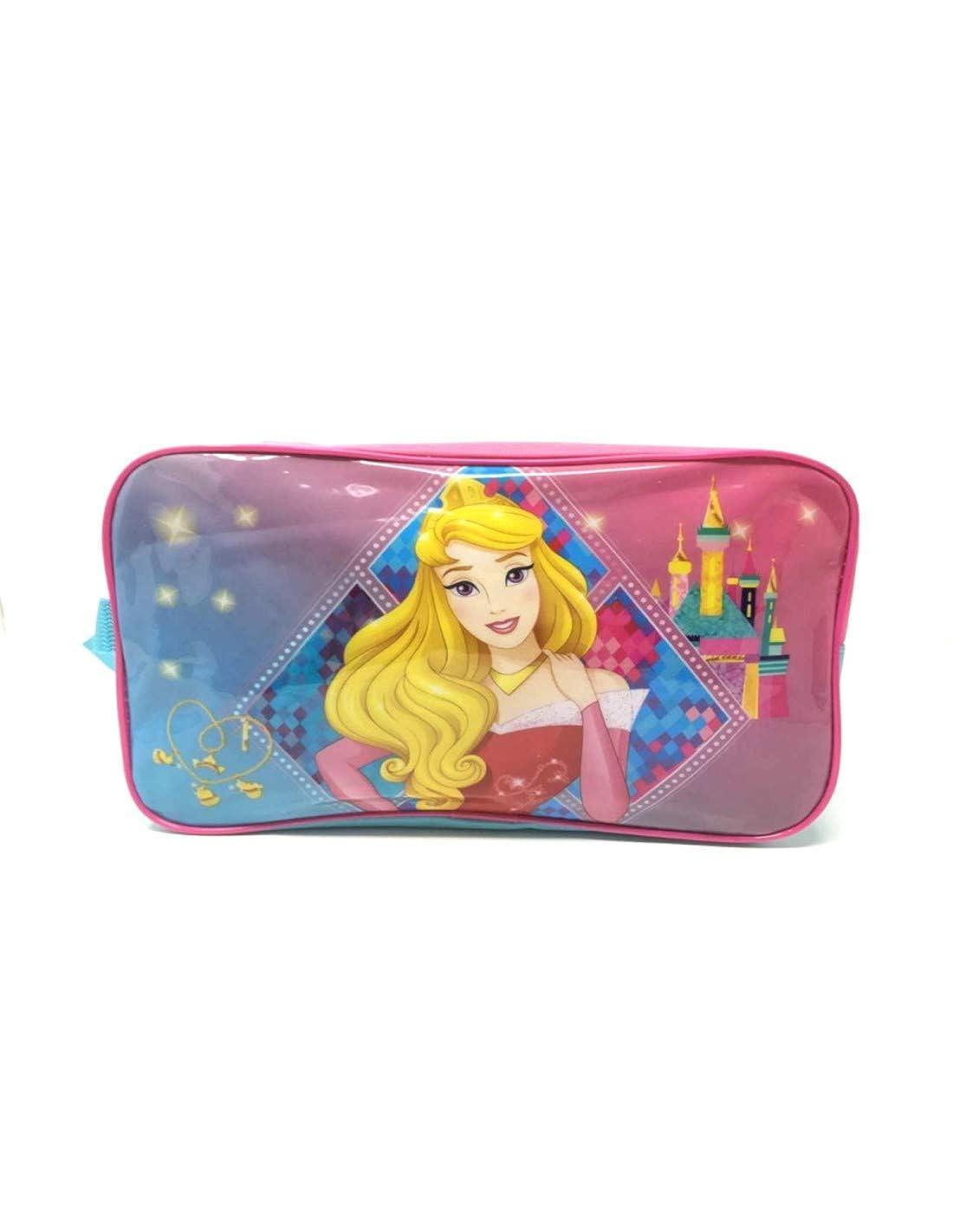 Trousse de toilette enfant fille Disney Princesse Aurore Rose//bleu 28x17x9cm